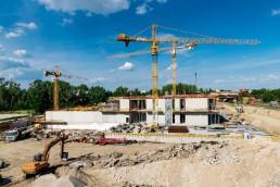 realizácia hrubej stavby Freshmarket