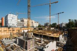 počas výstavby monolitických konštrukcií
