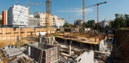 počas výstavby monolitických konštrukcií Blumentál