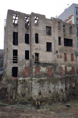 Zadný pohľad pred rekonštrukciou
