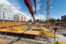 betónovanie železobetónových konštrukcií