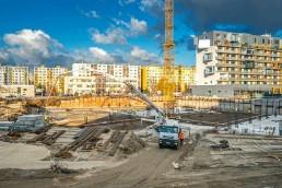 stavba hrubej stavby petržalka city 2.etapa