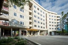 hrubá stavba objektu Lilja, Nuppu v Bratislave