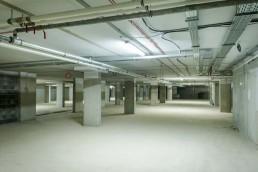 podzemné podlažie objektu Lilja projekt Nuppu
