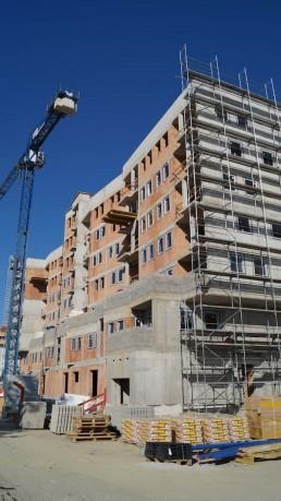 práce na stavbe - Panónka