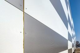 Q-99, Bratislava - realizácia hrubej stavby - detail budovy